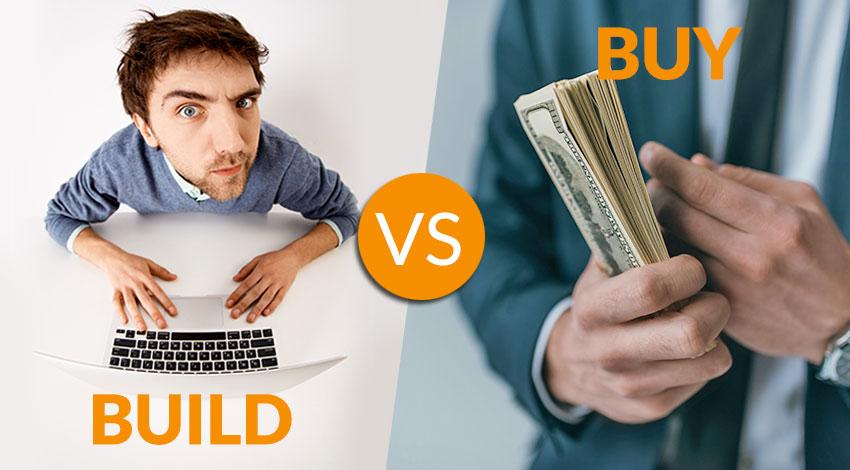 Build vs. Buy Software