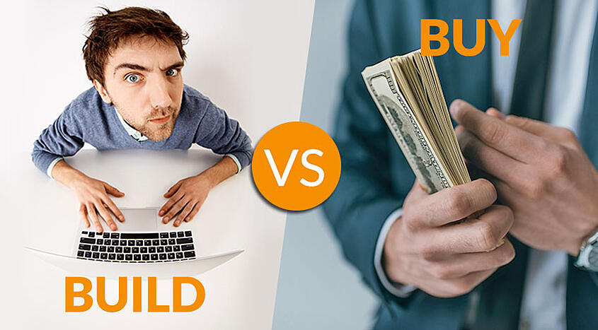 Build vs. Buy Software