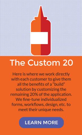 20% customization