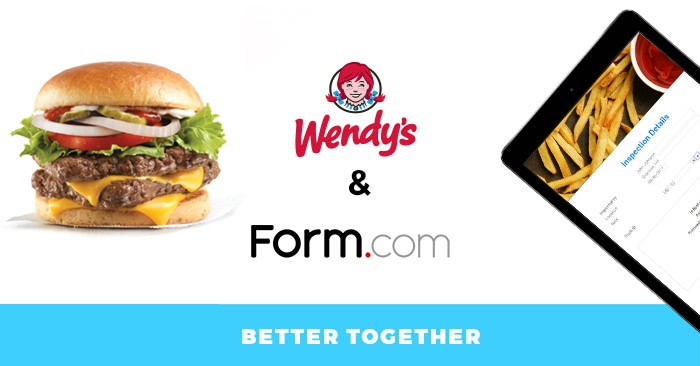 Wendy's partnership with Form.com